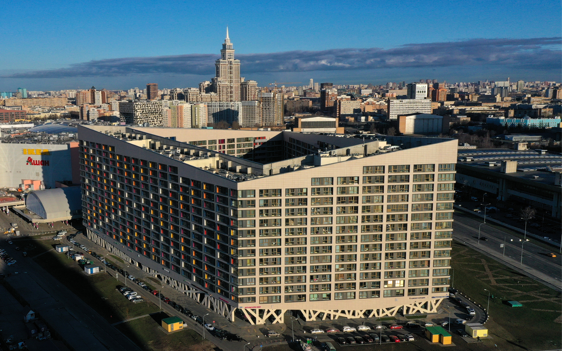 Апарт-комплекс в Москве