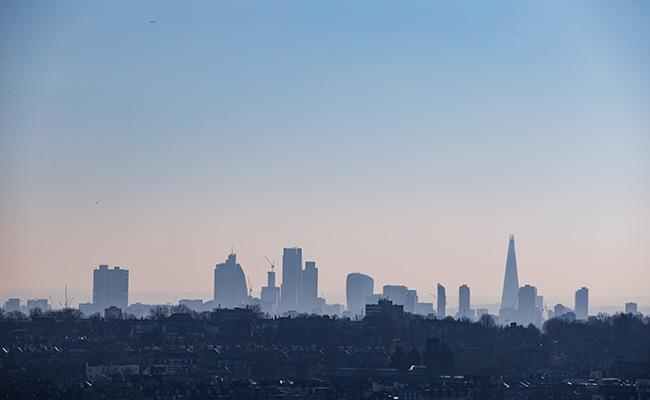Зимний вид Лондона