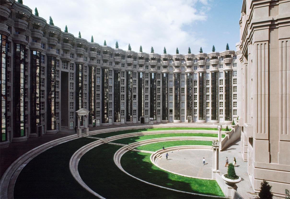 Жилой комплекс «Пространства Абраксаса» в Париже