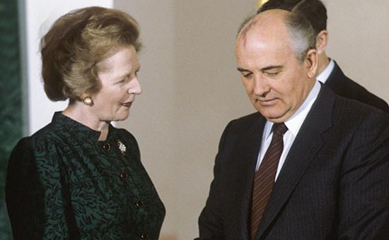 Великобритания рассекретила переписку Тэтчер с Рейганом о Горбачеве ::  Политика :: РБК