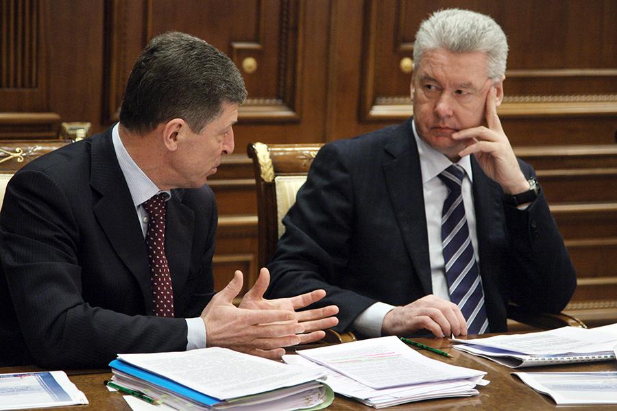 Дмитрий Козак и Сергей Собянин