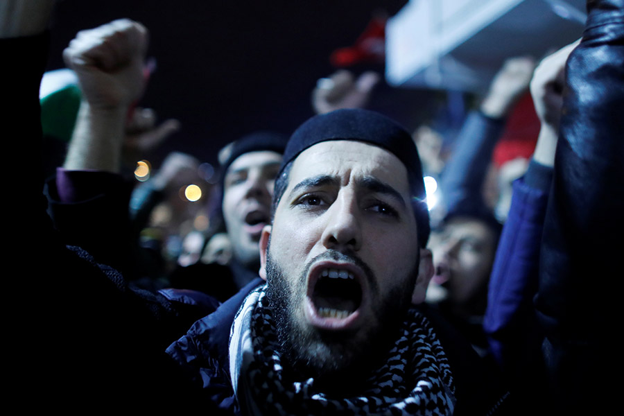 Протестующие в Стамбуле, Турция