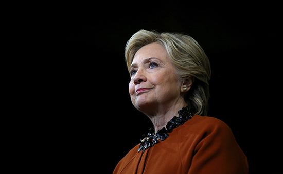 Кандидат в президенты США от демократов Хиллари Клинтон