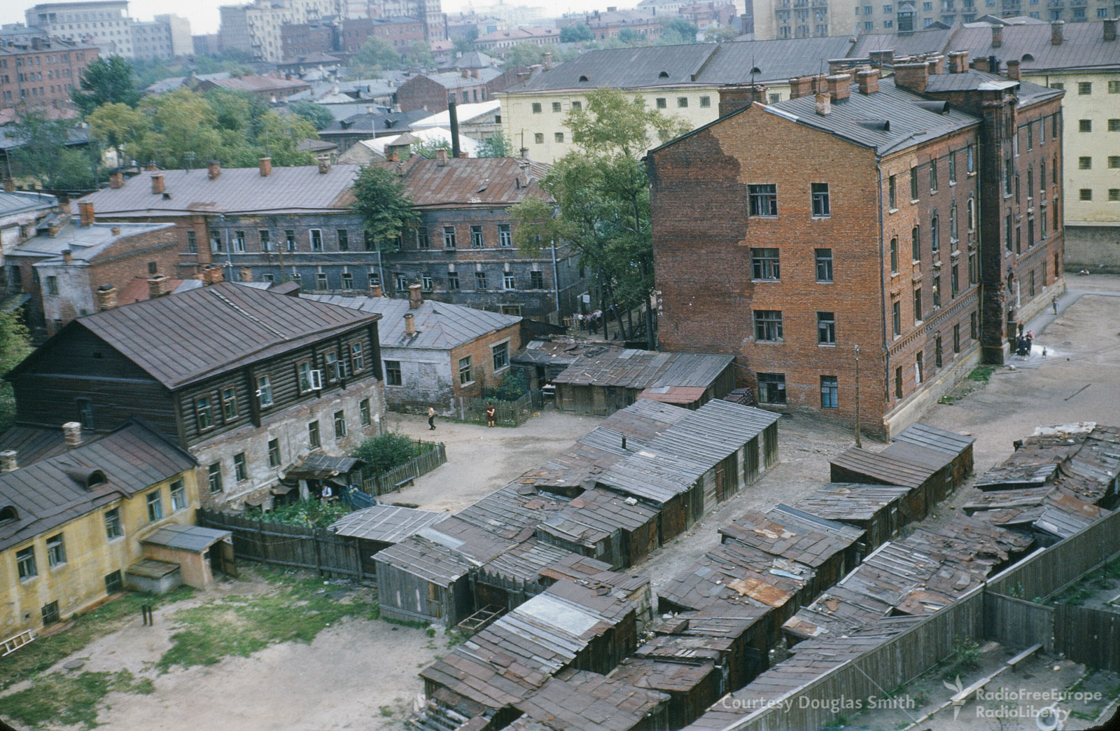 Деревянные дома исараи вТаганском районе Москвы