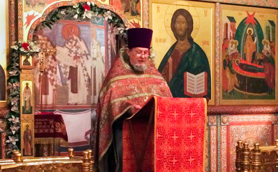 Настоятель храма Успения Пресвятой Богородицы в Казачьей слободе протоиерей Михаил Васильев