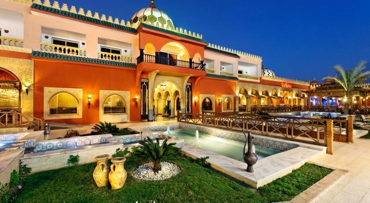Восточная сказка. Alf Leila Wa Leila Hotel (Египет)