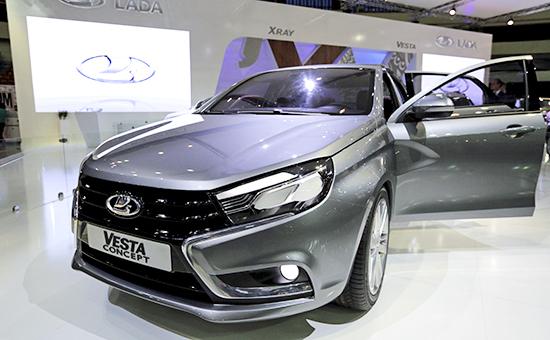 Концепт-кар компании АвтоВАЗ Lada Vesta
