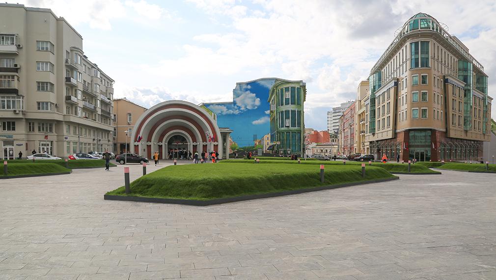 Площадь Красные Ворота