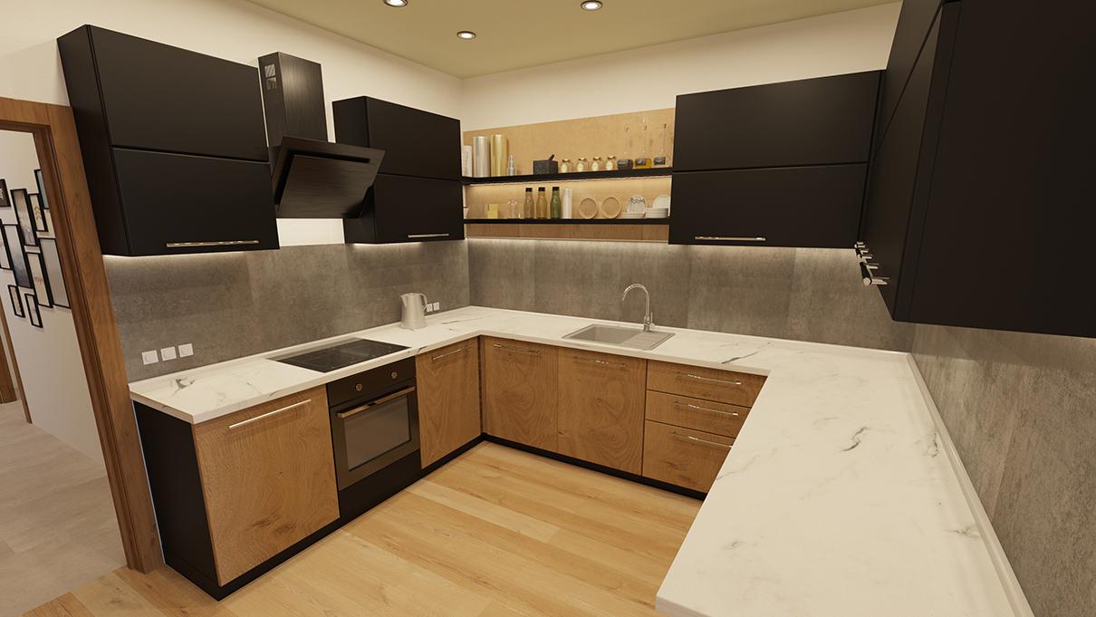 Проект дизайна жилого интерьера в Valentinka Residence