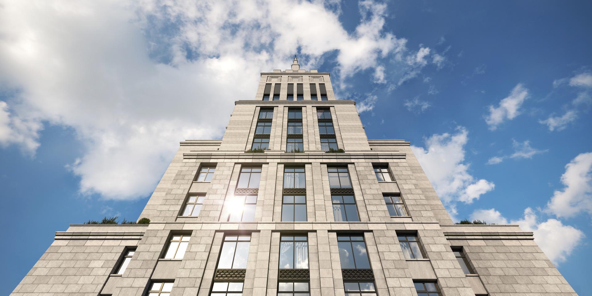 Архитектура Alcon Tower. Визуализация Alcon Group