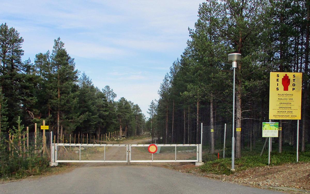 Граница между Россией и Финляндией