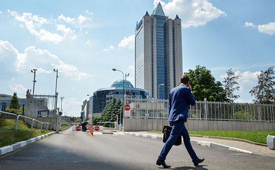 Главный офис «Газпрома» вМоскве