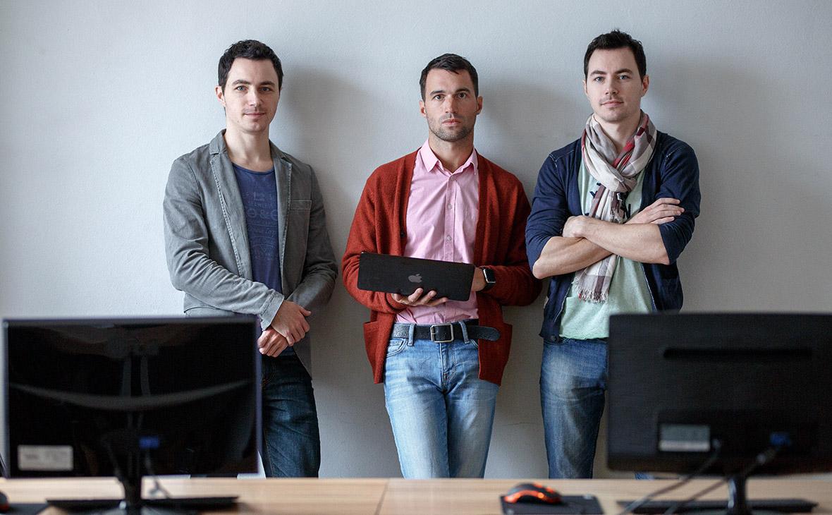 Братья Петр, Андрей и Яков Северюхины (слева направо)