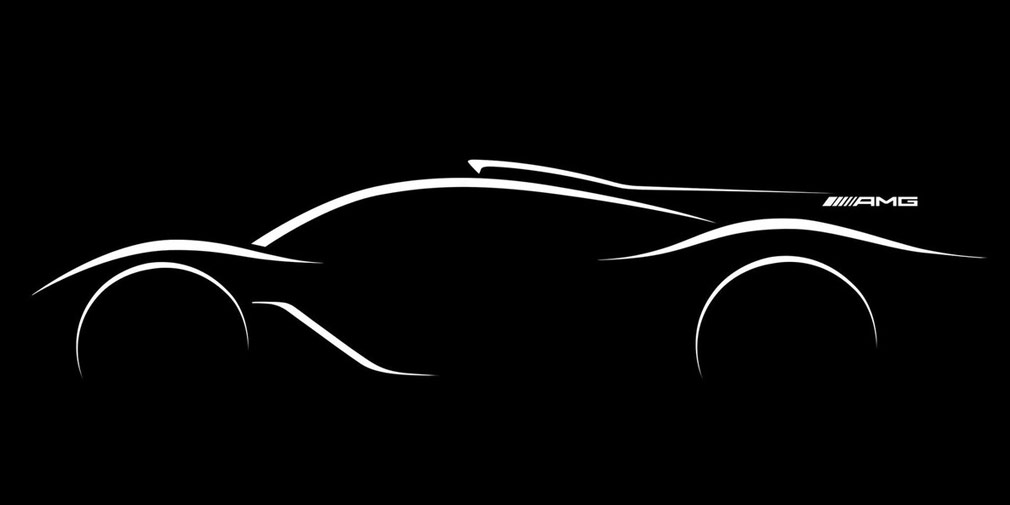 Mercedes-AMG Project One sketch