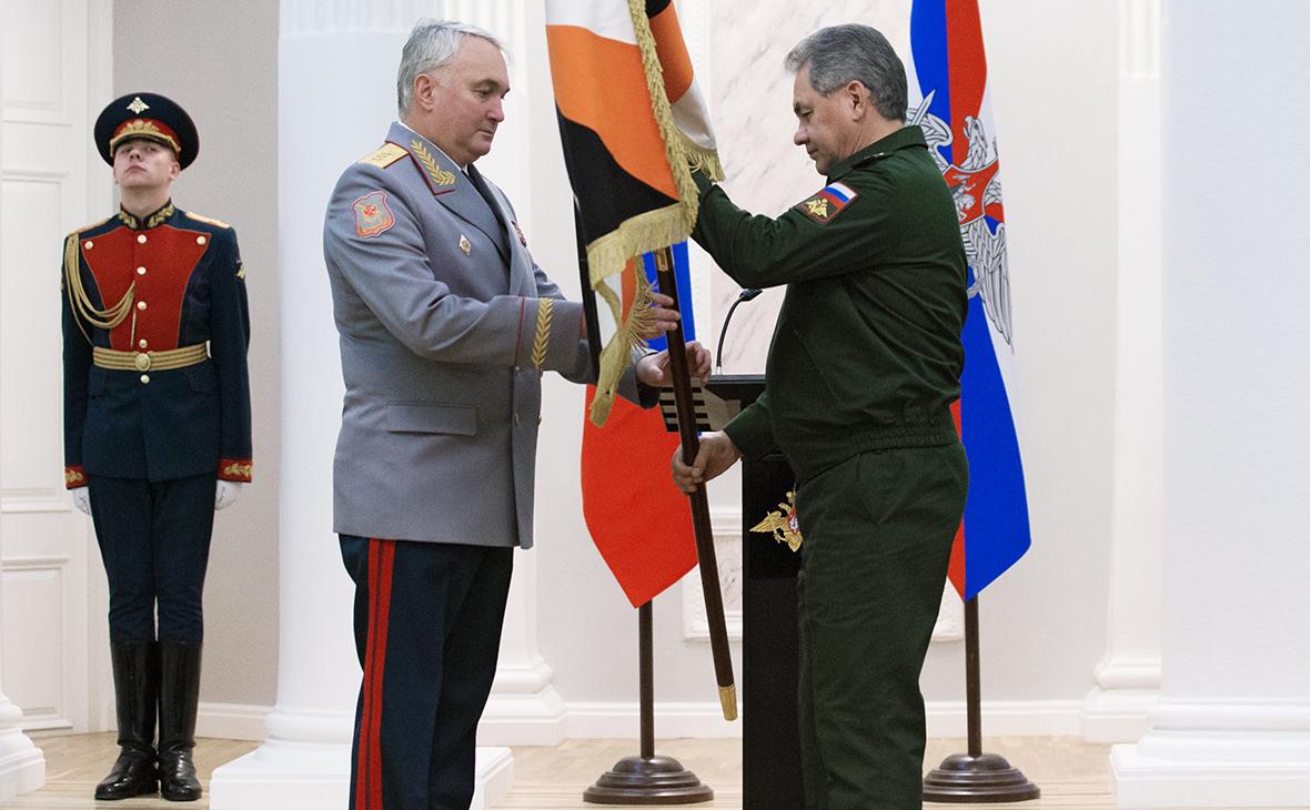 Андрей Картаполов и Сергей Шойгу