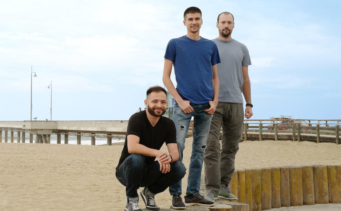 Магдим Метшин, Денис Замылин, Александр Василькин(cлева направо)