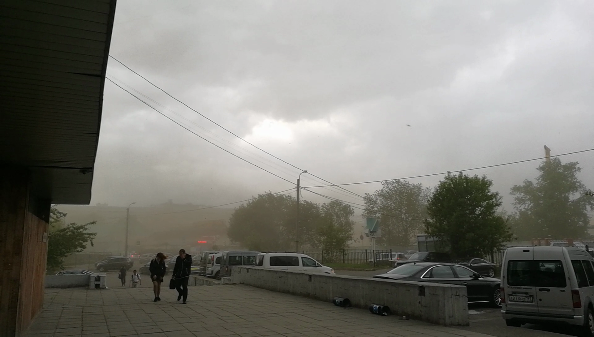 Москву накрыл ураган