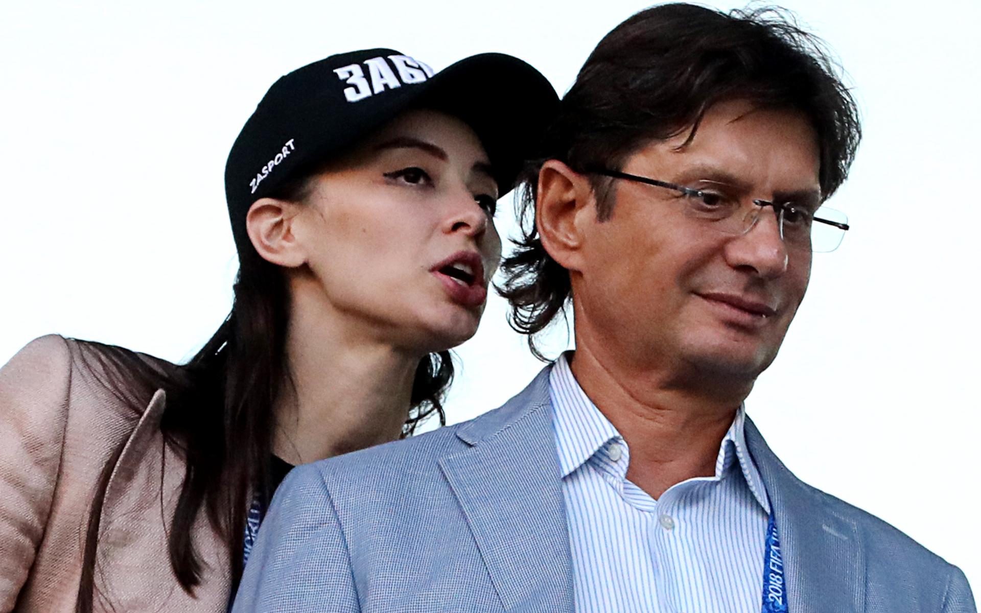 Фото:Зарема Салихова и Леонид Федун (Фото: ТАСС)