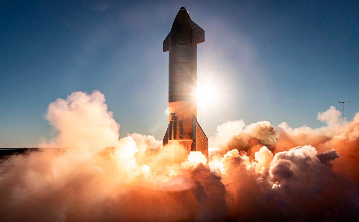 Прототип ракеты-носителя Starship