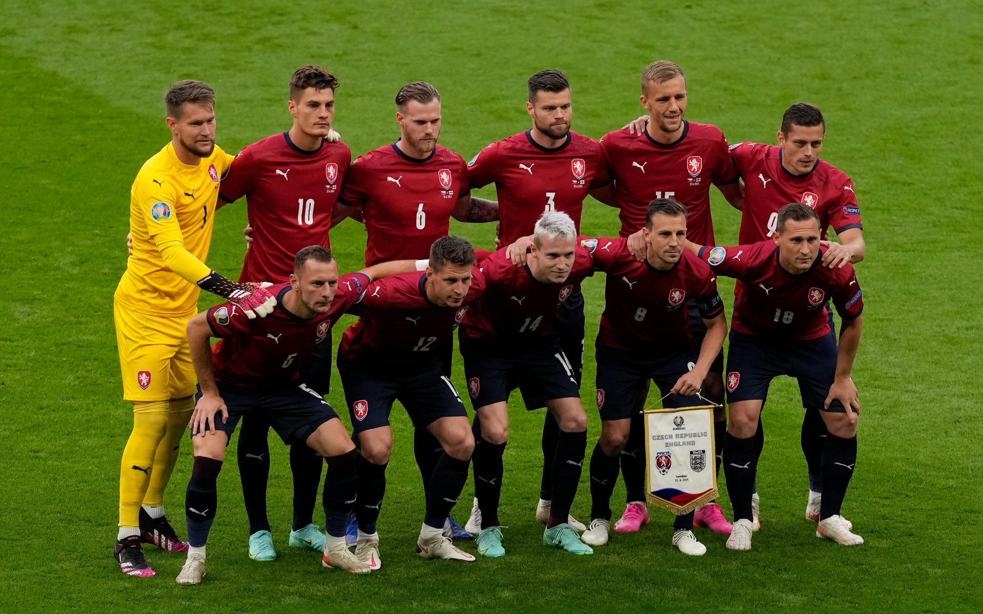 Фото: Игроки сборной Чехии (Matt Dunham - Pool/Getty Images)