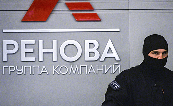 Сотрудник правоохранительных органов вофисе компании «Ренова» вМоскве