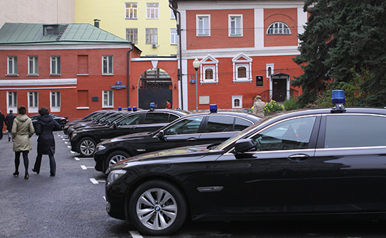 Автомобили со спецсигналами