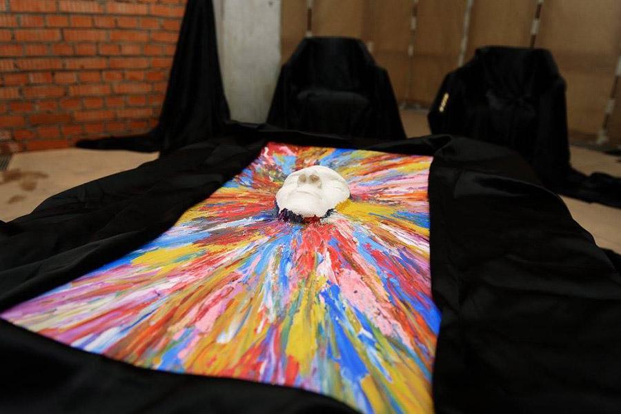 Выставка Сергея Самородова «Пространство вселенной» в Москве