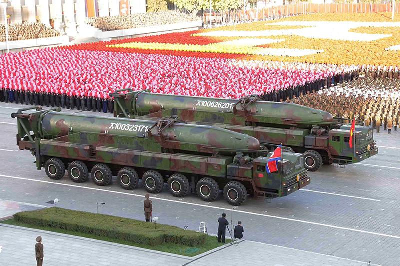Межконтинентальные баллистические ракеты KN-08
