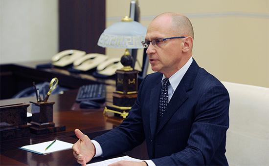 Генеральный директор госкорпорации«Росатом»Сергей Кириенко