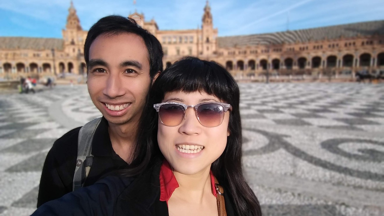 Kristy Shen and Bryce Leung