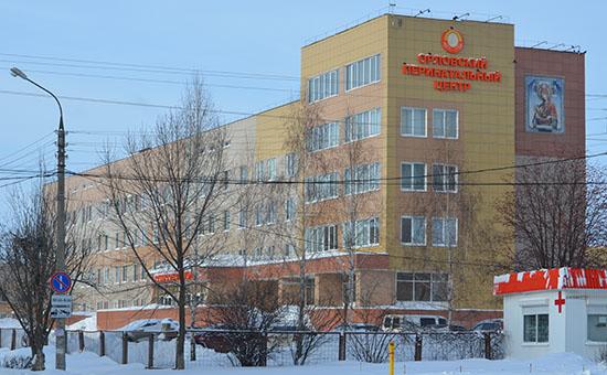 Вид на здание Орловского перинатального центра