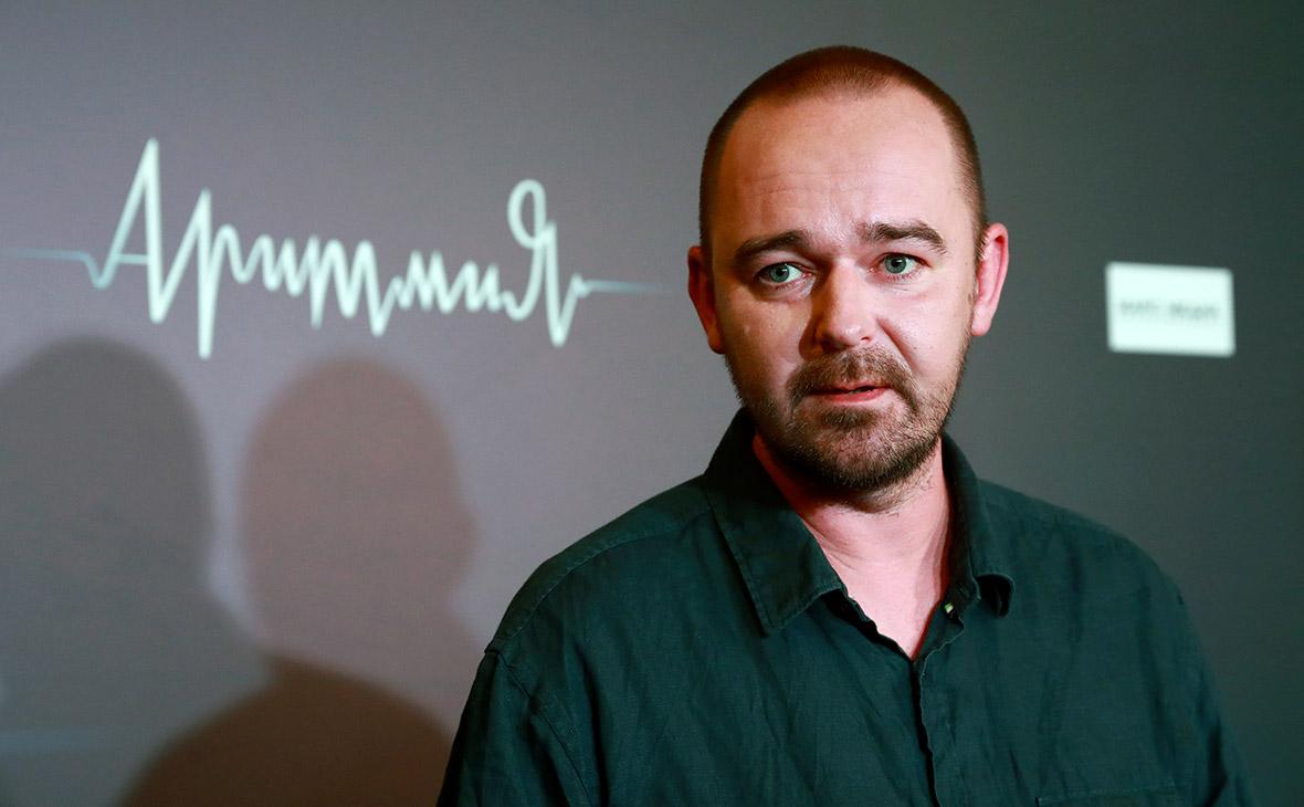 Режиссер Борис Хлебников на премьере фильма «Аритмия». Сентябрь 2017 года