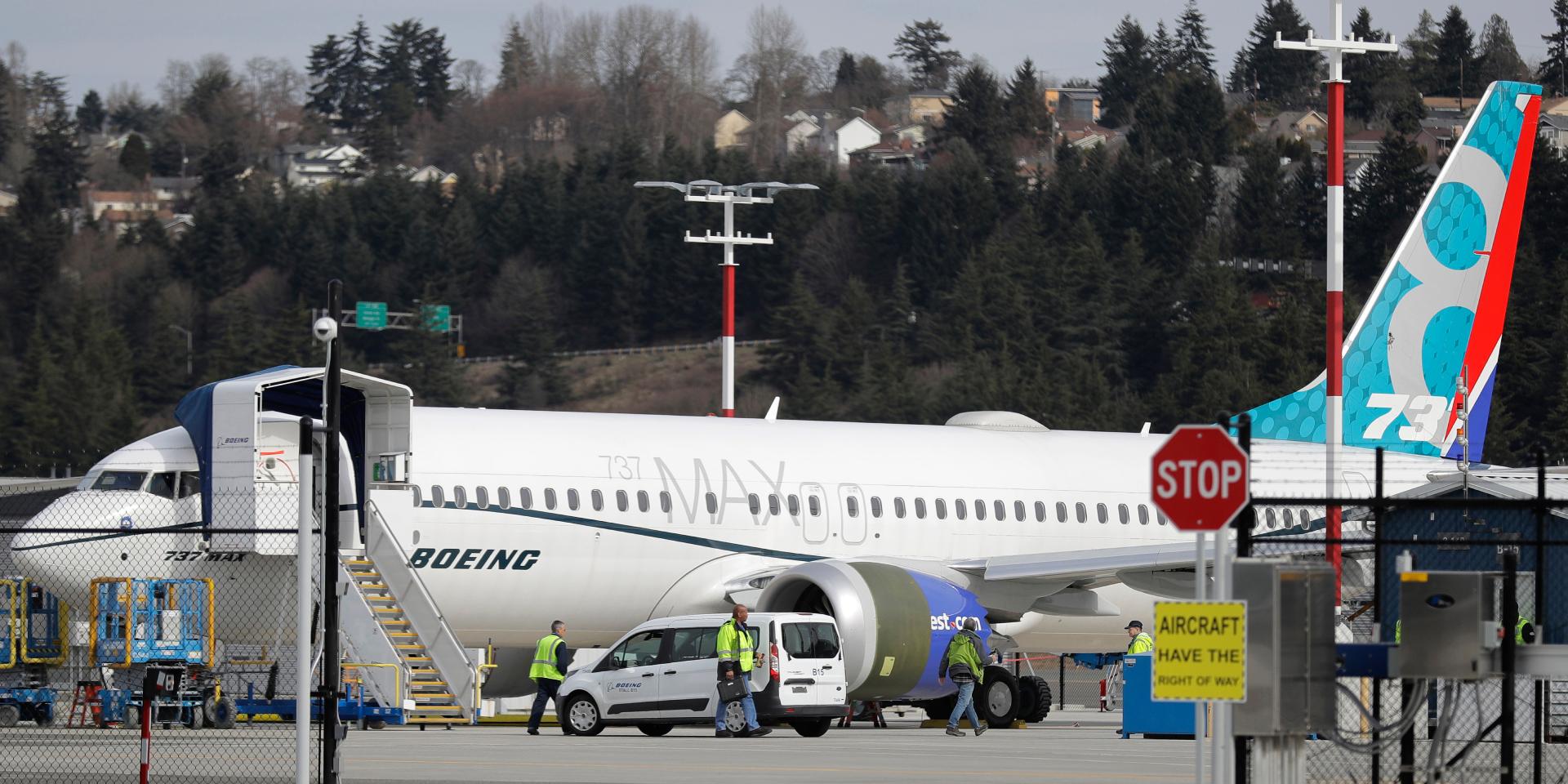 Самолет Boeing 737 Max 8