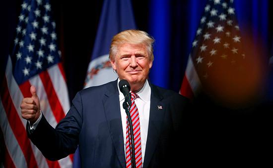 Представитель Республиканской партии — 70-летний миллиардер Дональд Трамп