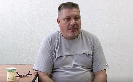 Задержанный сотрудниками ФСБ Дмитрий Штыбликов