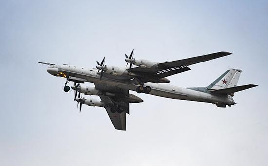 Бомбардировщик Ту-95 МС. Архивное фото