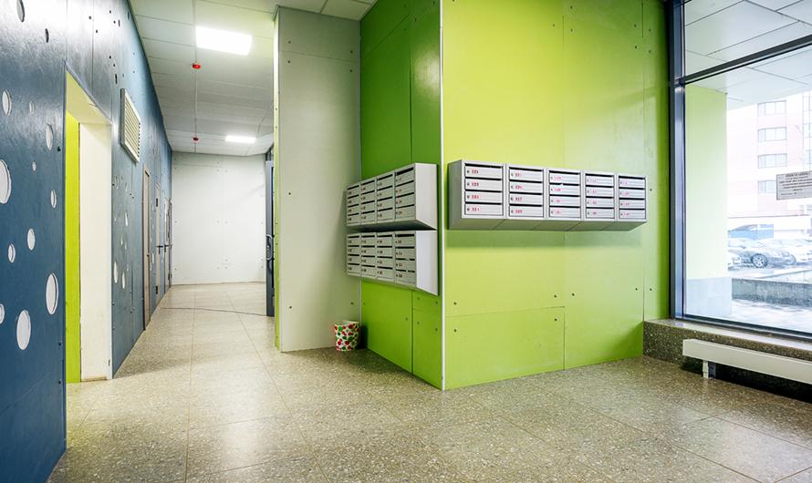 В домах установят современные почтовые ящики, домофоны, грузовые ипассажирские высокоскоростные лифты