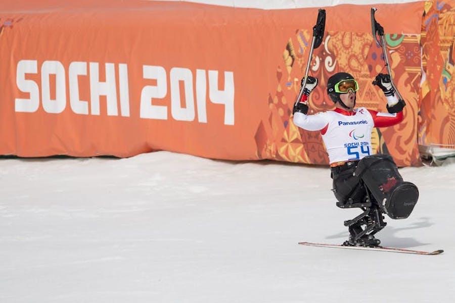 Джош Дук на Олимпиаде в Сочи в 2014 году