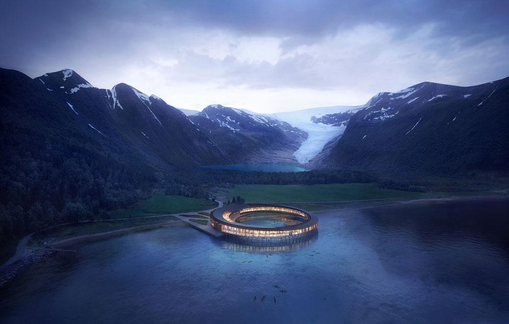 Гостиница Svart названа в честь близлежащего ледника