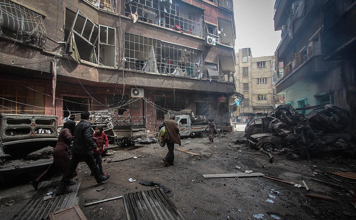Ситуация в сирийской Думе