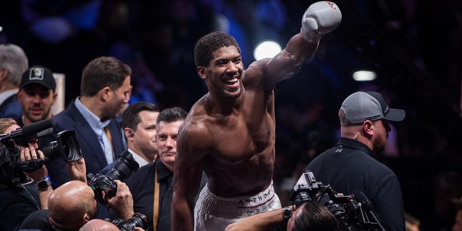 Чемпион мира по боксу в тяжелом весе Энтони Джошуа