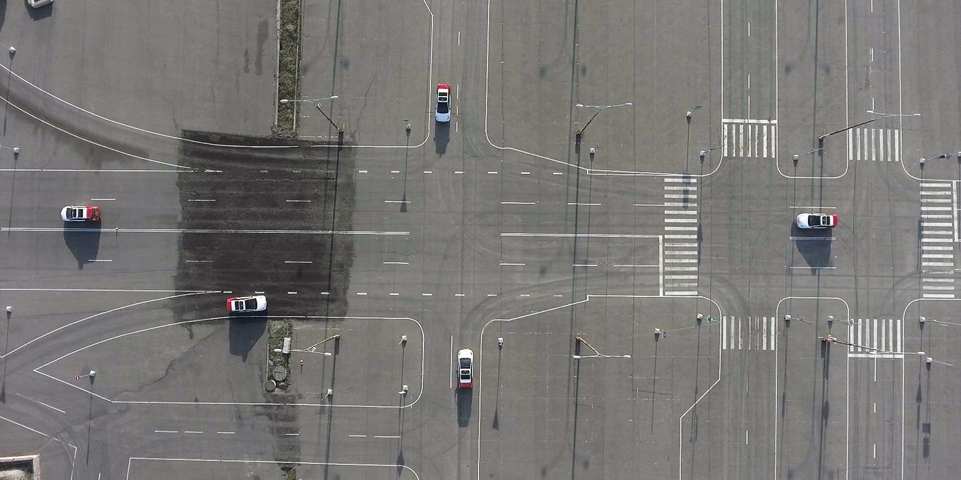 Полигон для тестирования беспилотников «Яндекса»