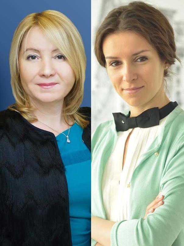 Ирина Доброхотова и Мария Литинецкая