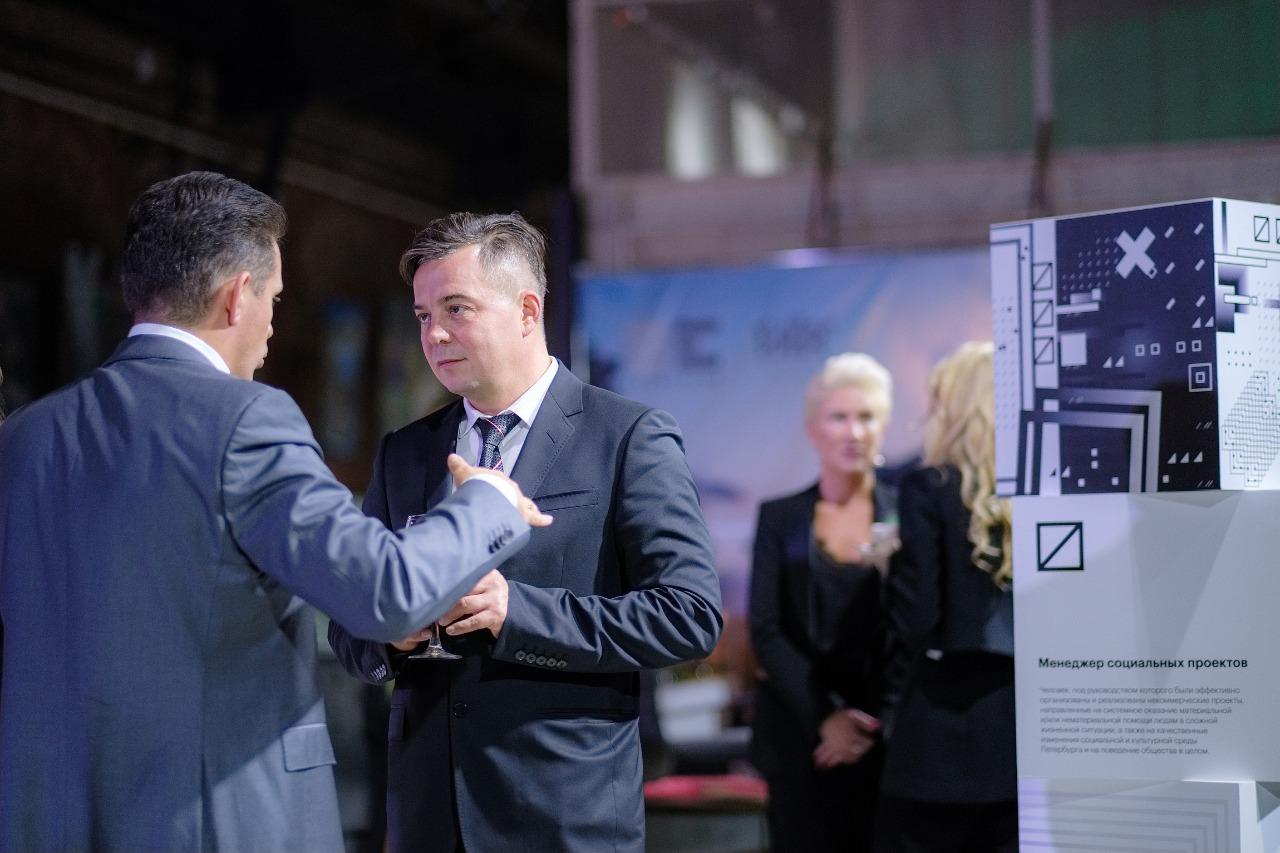 Фото:Артём Гудченко (ГК RENTA) - и Юрий Грудин («Первая линия»), номинант