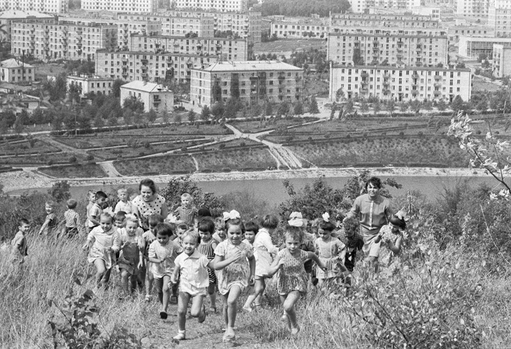 Жилой район Рышкановка вКишиневе, МолдавскаяССР. 1964 год