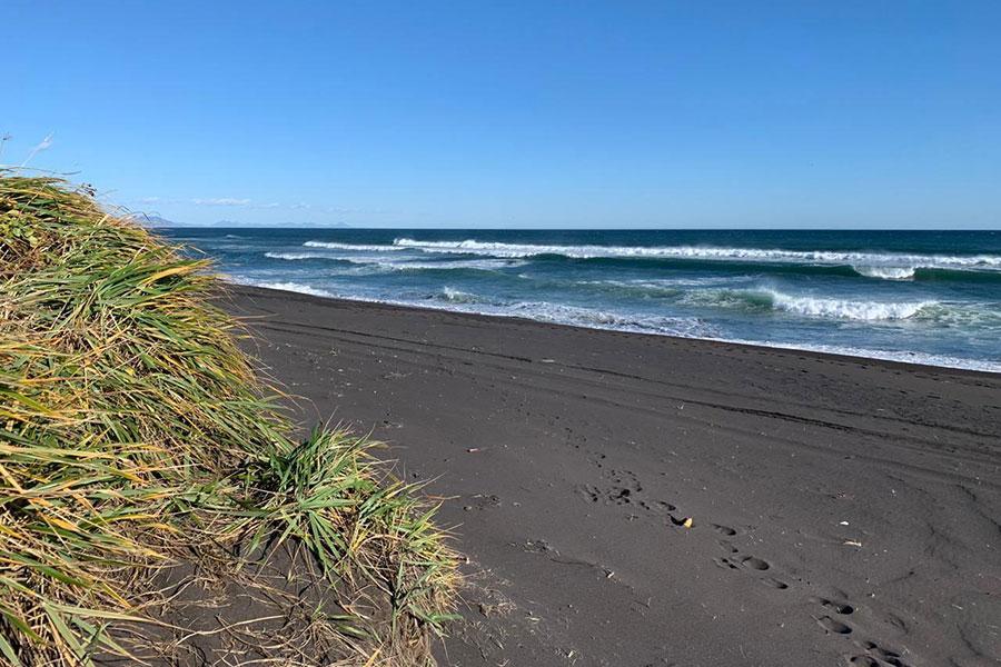 Халактырский пляж, 8 октября