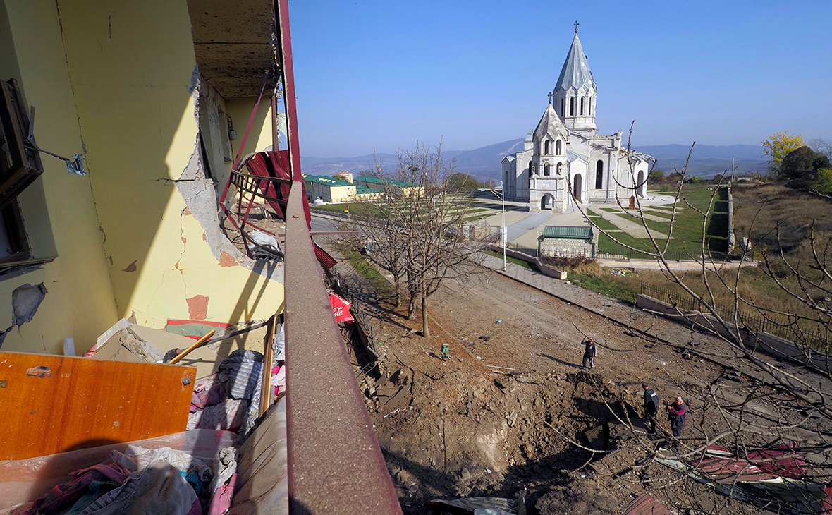 Вид города Шуши