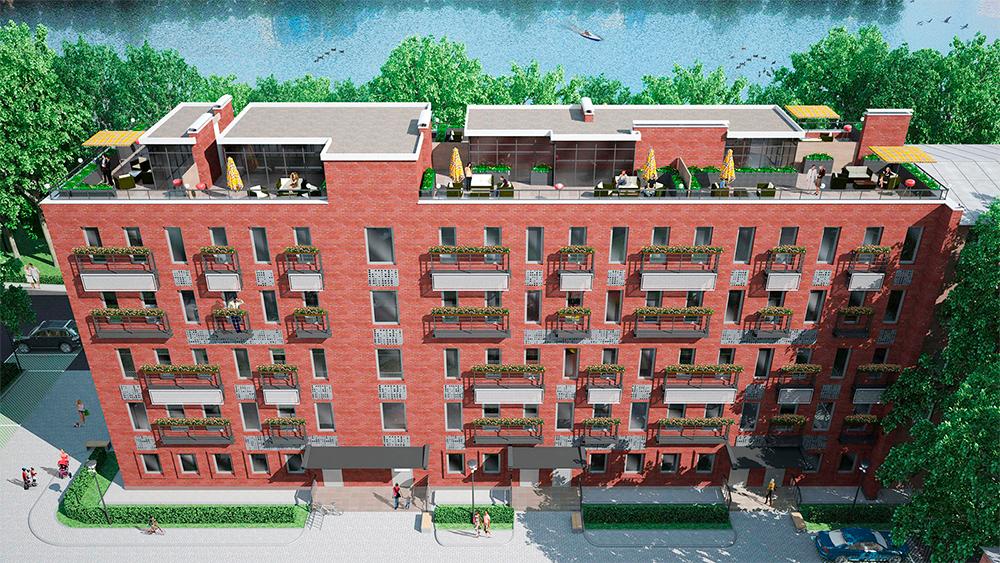 Park Plaza   Класс: бизнес Статус: апартаменты Разрешение на ввод в эксплуатацию: 3-й кв. 2017 года Площадь (кв. м) min-max: 64–130 Стоимость 1 кв. м (тыс. руб.) min-max: 180–226 Стоимость квартиры/апартаментов (млн руб.) min-max: 12–23