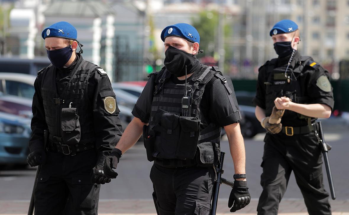 Казачий патруль в Екатеринбурге