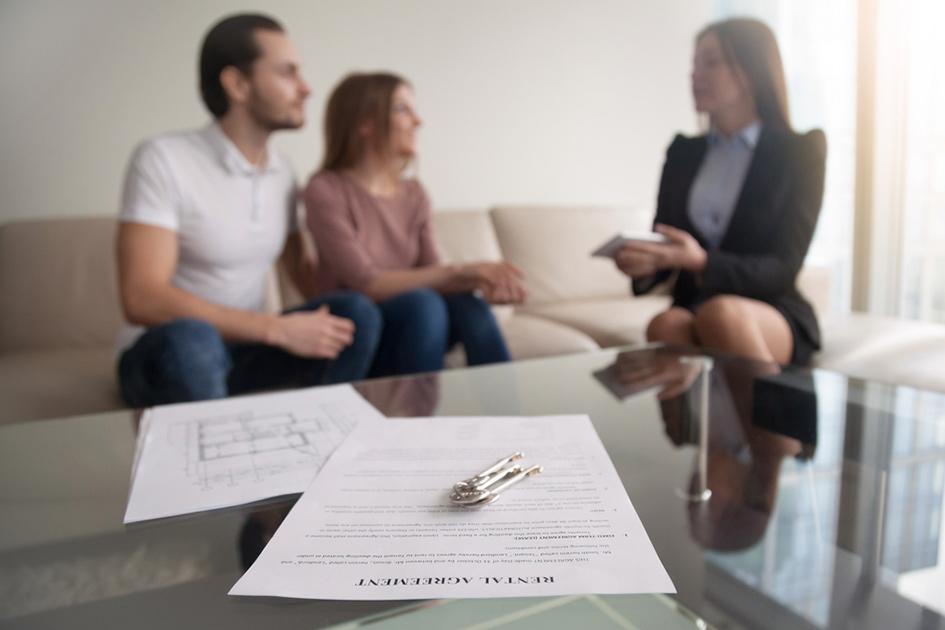 Момент подписания договора аренды